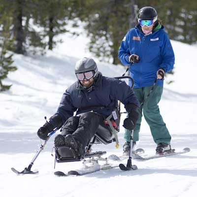 Bi Ski Adaptive Equipment