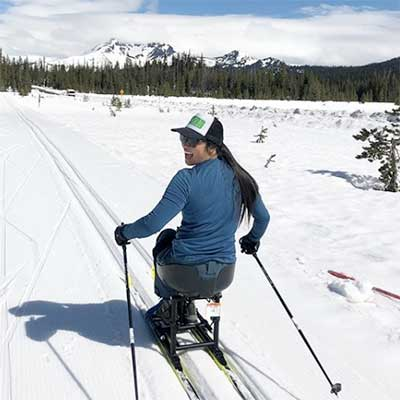 Nordic Sit Skiing Adaptive Equipment