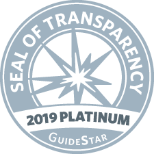Guidestar platinum level seal of transparancey