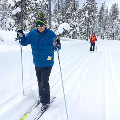 youth cross country skiing classic style