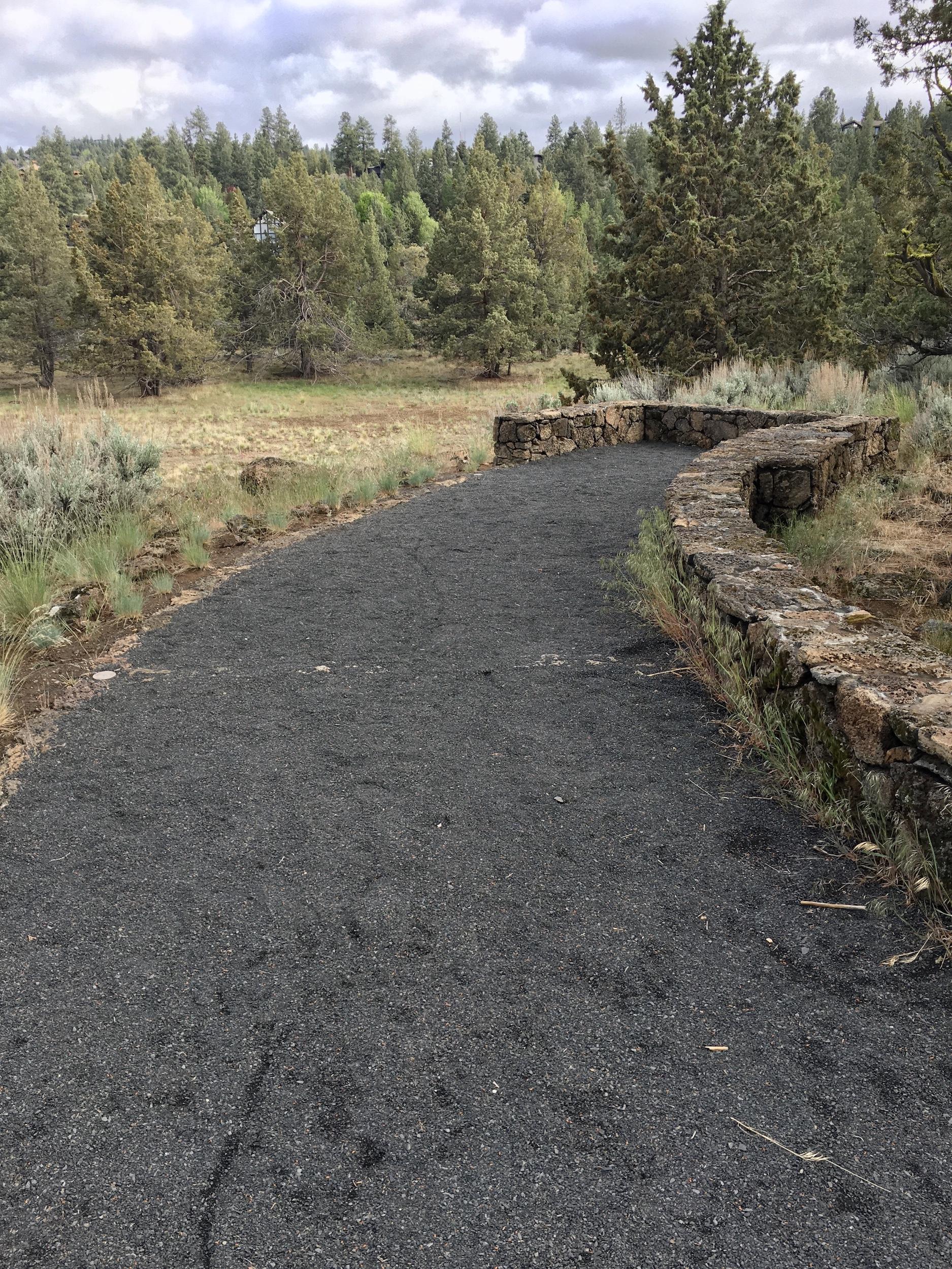 gravel viewpoint at riley ranch