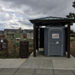 portable ada bathroom at rockridge park