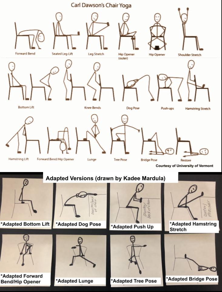 carl dawsons chair yoga sequence