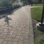 flat pavers pathway