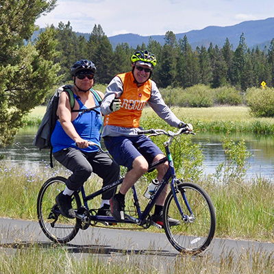 Tandem Cycle Captain Training