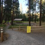 gravel path to picnic area at shevlin
