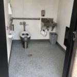 inside of ADA restroom to demonstrate access