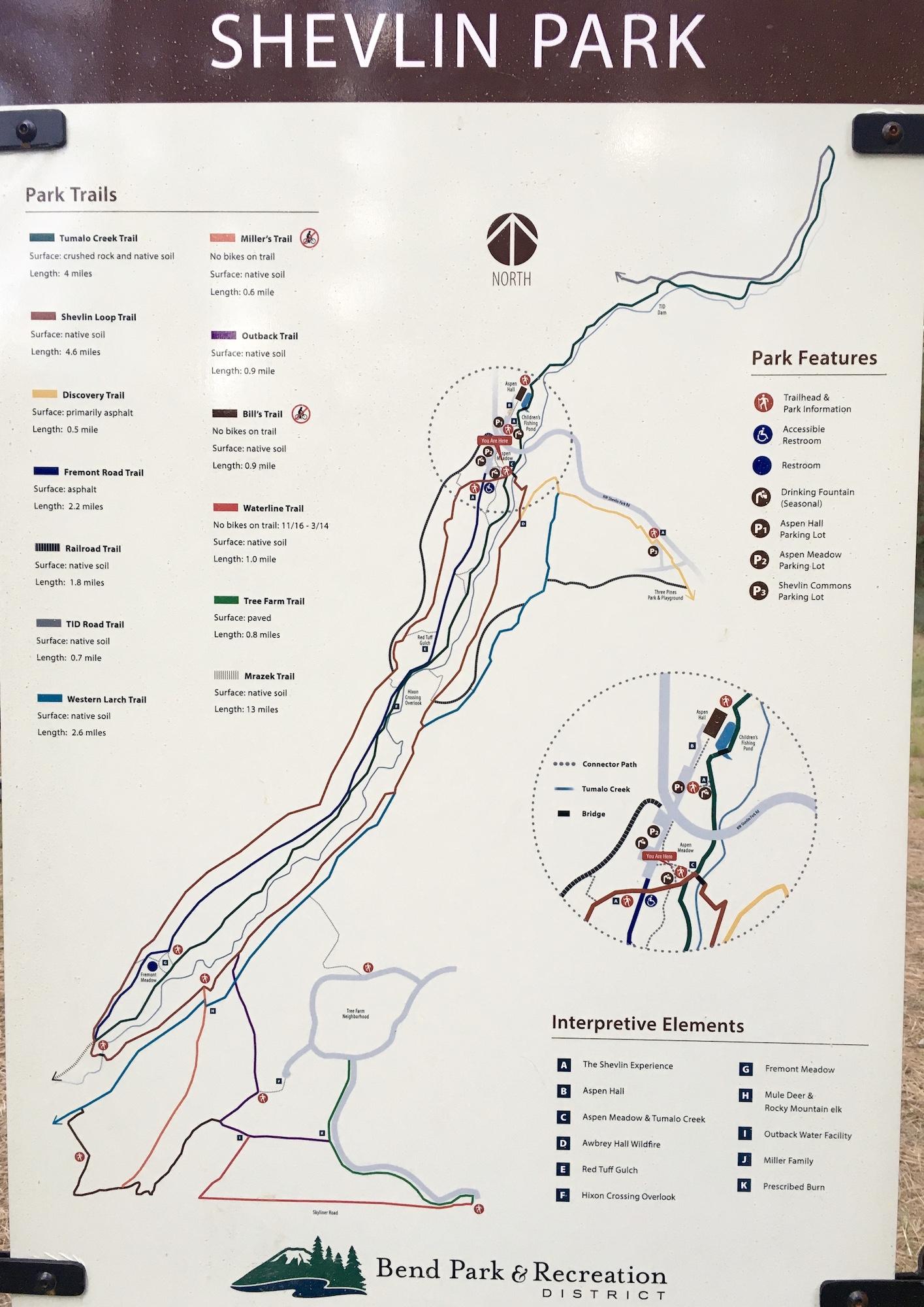 trail map of shevlin park