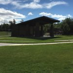 facility in grass field at legion park