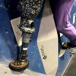 avo climbing foot for prosthetic