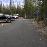 paved space along ada spots