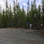 ada parking spots at trailhead at sparks lake