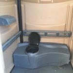 ada portable toilet inside