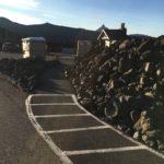 sidewalk into observatory trails