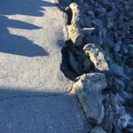 obstacle - cracks in ground
