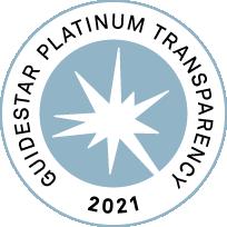 2021 Guidestar Platinum Seal of Transparency